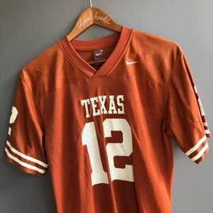 Texas Longhorns Football Jersey Nike Youth Medium